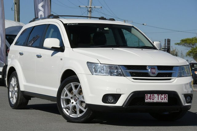 Used Fiat Freemont JF Lounge Rocklea, 2013 Fiat Freemont JF Lounge Bianco White 6 Speed Automatic Wagon