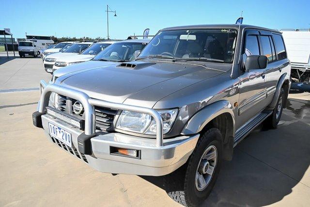 Used Nissan Patrol GU III MY2003 ST-L Pakenham, 2004 Nissan Patrol GU III MY2003 ST-L Gold 4 Speed Automatic Wagon