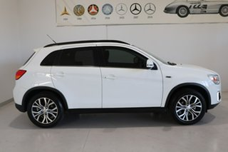 2015 Mitsubishi ASX XB MY15.5 LS 2WD White 6 Speed Constant Variable Wagon