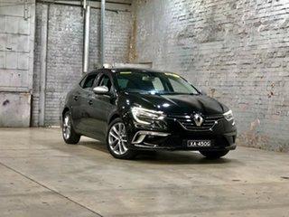 2016 Renault Megane BFB GT-Line EDC Black 7 Speed Sports Automatic Dual Clutch Hatchback.