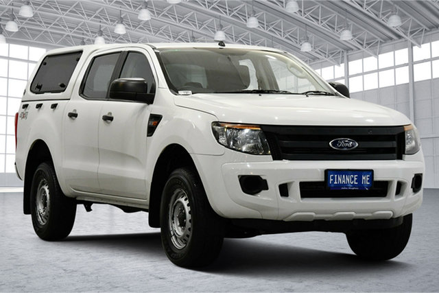 Used Ford Ranger PX XL Victoria Park, 2015 Ford Ranger PX XL White 6 Speed Sports Automatic Utility