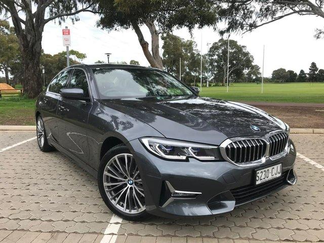 Used BMW 3 Series G20 320i Steptronic Luxury Line Adelaide, 2020 BMW 3 Series G20 320i Steptronic Luxury Line Grey 8 Speed Sports Automatic Sedan