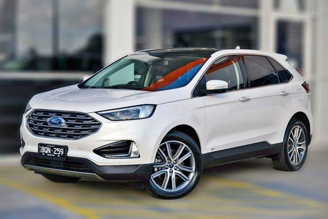 Used Ford Endura CA 2019MY Titanium Berwick, 2019 Ford Endura CA 2019MY Titanium White 8 Speed Sports Automatic Wagon