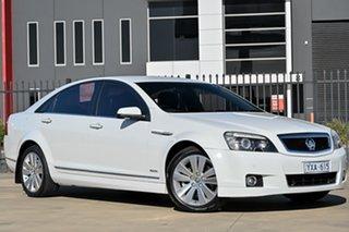 2009 Holden Caprice WM MY09.5 White 6 Speed Sports Automatic Sedan.