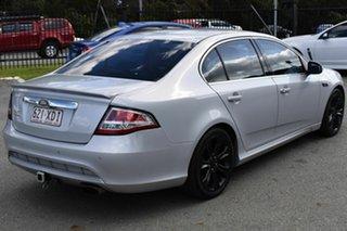 2010 Ford Falcon FG Upgrade G6E Turbo Silver 6 Speed Automatic Sedan