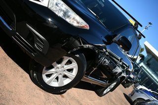 2010 Toyota Kluger GSU45R KX-S (4x4) Black 5 Speed Automatic Wagon.