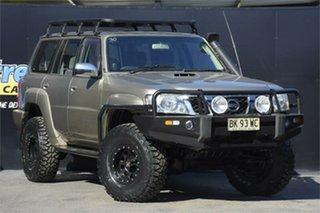 2006 Nissan Patrol GU IV MY06 ST Gold 4 Speed Automatic Wagon.