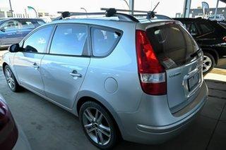 2010 Hyundai i30 FD MY10 Sportswagon cw Wagon Silver 4 Speed Automatic Wagon.