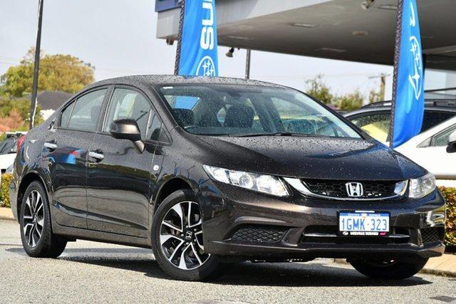Used Honda Civic 9th Gen Ser II MY15 VTi-S Melville, 2015 Honda Civic 9th Gen Ser II MY15 VTi-S Bronze 5 Speed Sports Automatic Sedan