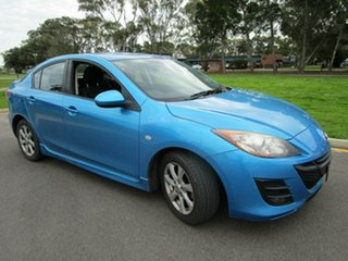2010 Mazda 3 BL 10 Upgrade Maxx Blue 5 Speed Automatic Sedan.