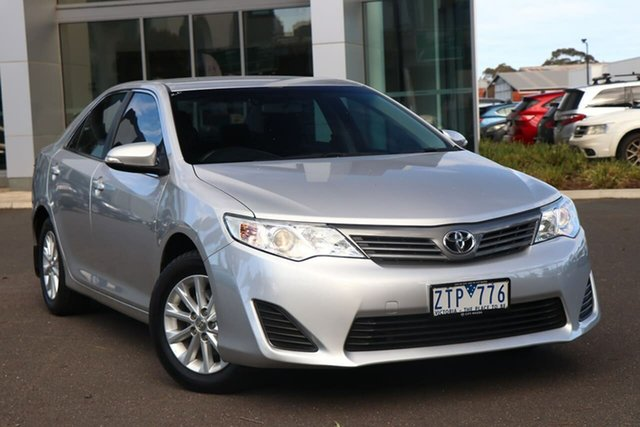 Used Toyota Camry ASV50R Altise South Melbourne, 2013 Toyota Camry ASV50R Altise Silver Pearl 6 Speed Sports Automatic Sedan