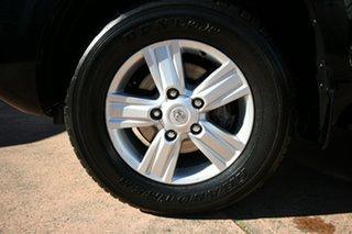 2012 Toyota Landcruiser VDJ200R 09 Upgrade Sahara (4x4) Black 6 Speed Automatic Wagon.