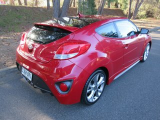 2016 Hyundai Veloster FS4 Series II SR Coupe D-CT Turbo Veloster Red Pearl/s 7 Speed.