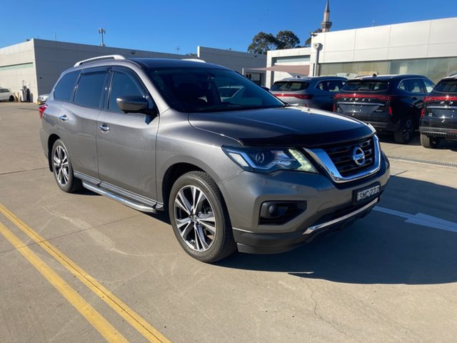 Used Nissan Pathfinder R52 Series II MY17 Ti X-tronic 4WD Chullora, 2018 Nissan Pathfinder R52 Series II MY17 Ti X-tronic 4WD Grey 1 Speed Constant Variable Wagon