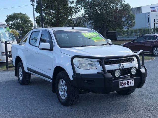 Used Holden Colorado RG LT Archerfield, 2012 Holden Colorado RG LT White 6 Speed Sports Automatic Utility