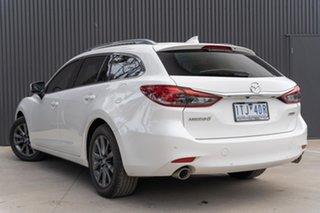 2019 Mazda 6 GL1032 Touring SKYACTIV-Drive White 6 Speed Sports Automatic Wagon