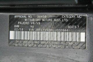 2018 Mitsubishi Pajero NX MY19 GLS LWB (4x4) 7 Seat Grey 5 Speed Auto Sports Mode Wagon