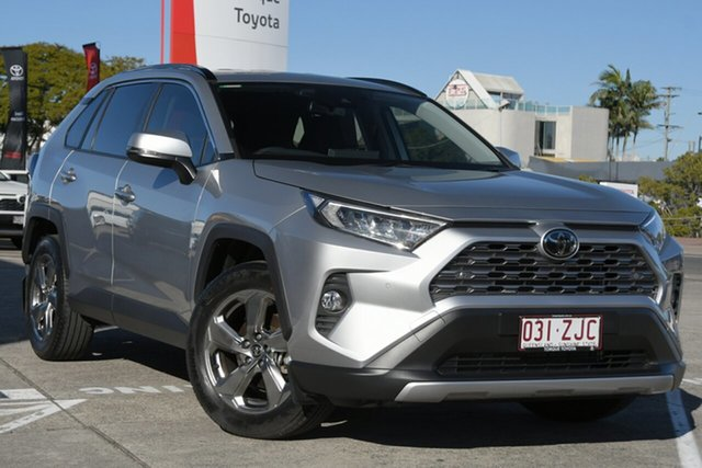 Pre-Owned Toyota RAV4 Mxaa52R GXL 2WD Albion, 2019 Toyota RAV4 Mxaa52R GXL 2WD Silver Sky 10 Speed Constant Variable Wagon