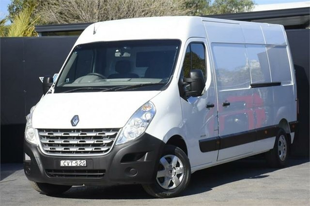 Used Renault Master X62 Mid Roof LWB Quickshift Campbelltown, 2013 Renault Master X62 Mid Roof LWB Quickshift White 6 Speed Seq Manual Auto-Clutch Van