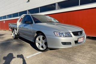 2005 Holden Commodore VZ One Tonner S Silver 4 Speed Automatic Cab Chassis.