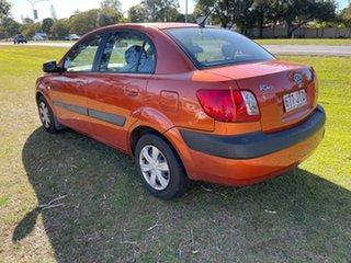 2006 Kia Rio JB Orange 4 Speed Automatic Sedan.