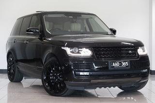 2013 Land Rover Range Rover L405 14MY Vogue SE Santorini Black 8 Speed Sports Automatic Wagon.