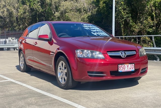 Used Holden Commodore VE MY10 Omega Morayfield, 2009 Holden Commodore VE MY10 Omega Red 6 Speed Automatic Sportswagon