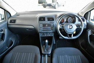 2017 Volkswagen Polo 6R MY17.5 66TSI DSG Urban White 7 Speed Sports Automatic Dual Clutch Hatchback.