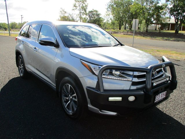 Pre-Owned Toyota Kluger GSU55R MY17 GXL (4x4) Roma, 2017 Toyota Kluger GSU55R MY17 GXL (4x4) Silver 8 Speed Automatic Wagon