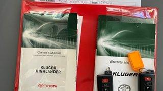 2017 Toyota Kluger GSU55R GXL AWD Silver 8 Speed Sports Automatic Wagon.