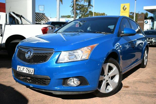 Used Holden Cruze JH MY14 Equipe Brookvale, 2014 Holden Cruze JH MY14 Equipe Blue 6 Speed Automatic Hatchback