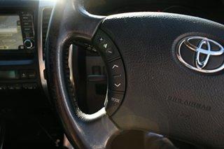 2008 Toyota Landcruiser Prado GRJ120R 07 Upgrade Grande (4x4) Black 5 Speed Automatic Wagon