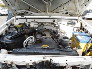 2004 Toyota Landcruiser HZJ79R White 5 Speed Manual Cab Chassis