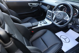 2019 Mercedes-Benz SLC-Class R172 809MY SLC300 9G-Tronic Black 9 Speed Sports Automatic Roadster.
