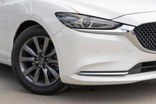 2019 Mazda 6 GL1032 Touring SKYACTIV-Drive White 6 Speed Sports Automatic Wagon.