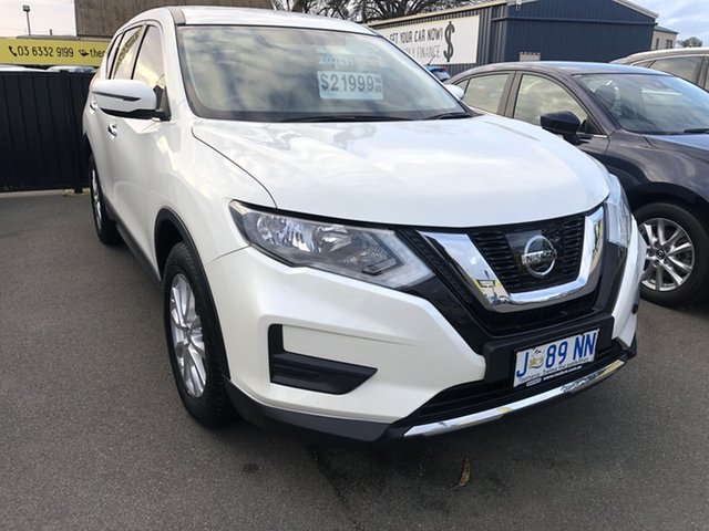 Used Nissan X-Trail T32 Series II ST X-tronic 2WD Launceston, 2017 Nissan X-Trail T32 Series II ST X-tronic 2WD Ivory Pearl 7 Speed Constant Variable Wagon