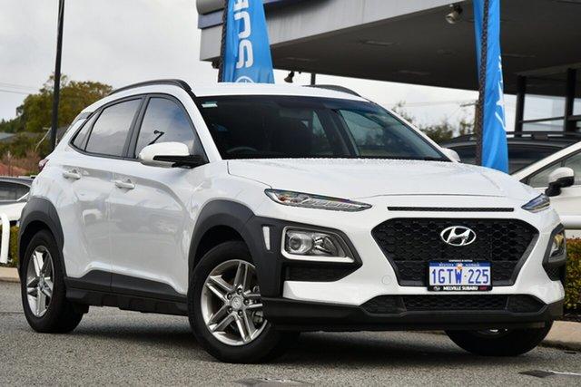 Used Hyundai Kona OS.2 MY19 Active 2WD Melville, 2019 Hyundai Kona OS.2 MY19 Active 2WD White 6 Speed Sports Automatic Wagon