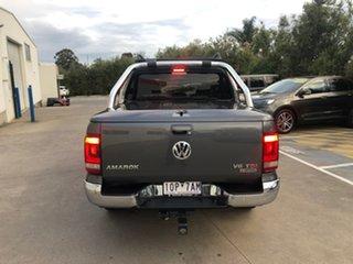 2018 Volkswagen Amarok 2H MY18 TDI550 4MOTION Perm Highline Grey 8 Speed Automatic Utility.