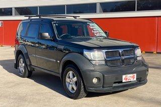 2008 Dodge Nitro KA SX Black 5 Speed Automatic Wagon.
