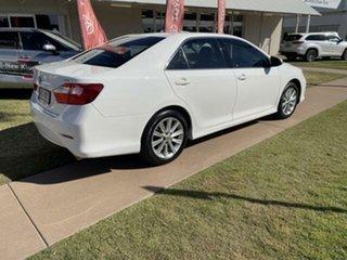 2017 Toyota Aurion GSV50R MY16 AT-X Diamond White 6 Speed Automatic Sedan