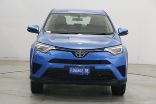 2017 Toyota RAV4 ZSA42R GX 2WD Blue 7 Speed Constant Variable Wagon.