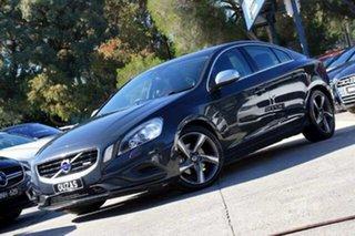 2011 Volvo S60 F Series MY12 T5 PwrShift R-Design Grey 6 Speed Sports Automatic Dual Clutch Sedan