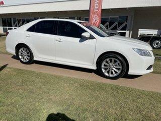 2017 Toyota Aurion GSV50R MY16 AT-X Diamond White 6 Speed Automatic Sedan.