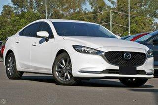 2021 Mazda 6 GL1033 Touring SKYACTIV-Drive White 6 Speed Sports Automatic Sedan.