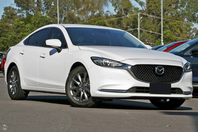 New Mazda 6 GL1033 Touring SKYACTIV-Drive Waitara, 2021 Mazda 6 GL1033 Touring SKYACTIV-Drive White 6 Speed Sports Automatic Sedan