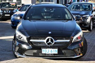 2016 Mercedes-Benz CLA-Class C117 806MY CLA200 DCT Black 7 Speed Sports Automatic Dual Clutch Coupe.