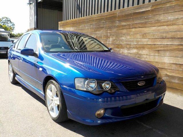 Used Ford Falcon BA XR6 Labrador, 2003 Ford Falcon BA XR6 Blue 4 Speed Sports Automatic Sedan
