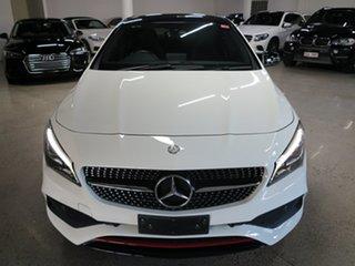 2016 Mercedes-Benz CLA-Class C117 806MY CLA250 DCT 4MATIC Sport White 7 Speed.