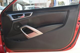 2012 Hyundai Veloster FS Coupe Red 6 Speed Manual Hatchback