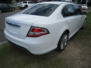 2010 Ford Falcon FG G6 Limited Edition White 5 Speed Automatic Sedan